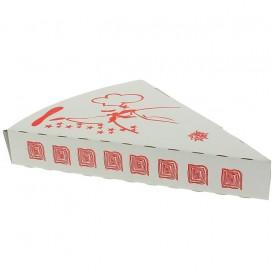 Gegolfde Pizza stuk doosje Takeaway (25 stuks)