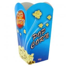 Papieren Popcorn doosje medium maat 90gr 7,8x10,5x18cm (350 stuks)