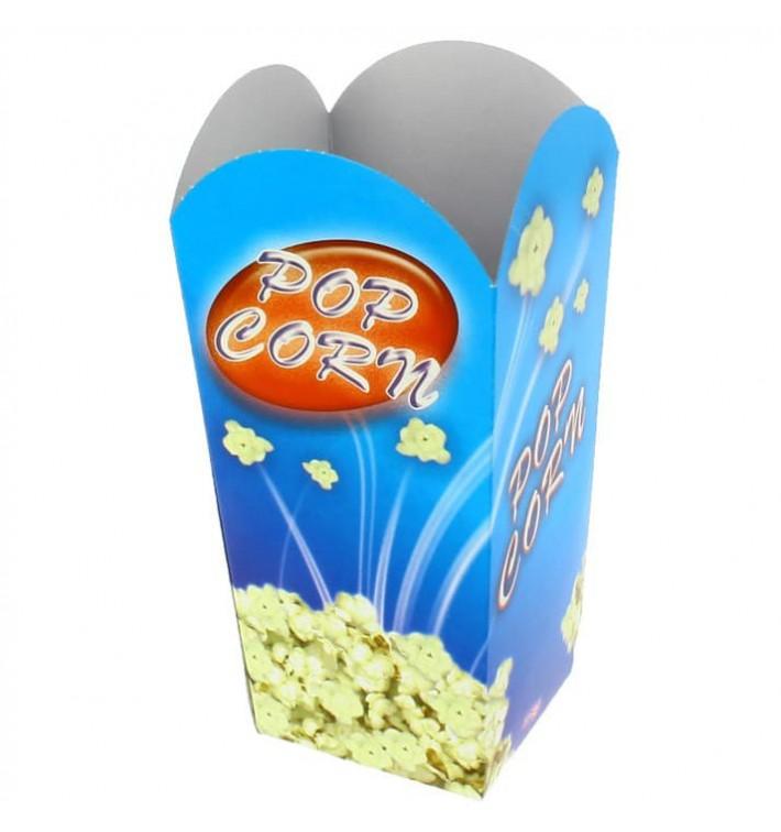 Papieren Popcorn doosje klein maat 45gr 6,5x8,5x15cm (700 stuks)