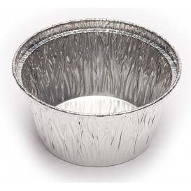 Folie pan pastei Rond vormig 110ml (50 stuks)