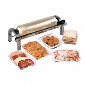 Voedsel wrap Dispenser met Snijder Roestvrij van staal 45cm (1 stuk)