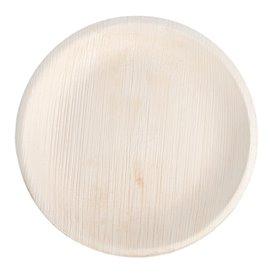 Palm blad bord Rond vormig 18 cm (200 stuks)
