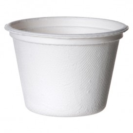 Suikerriet Container Bagasse wit 120ml (1800 stuks)