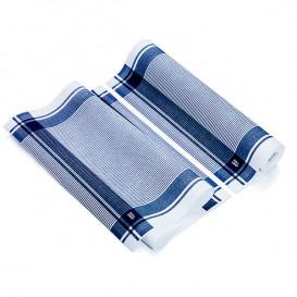 """Vaatdoek rol """"Roll Drap"""" Vintage blauw 40x64cm P40cm (10 stuks)"""