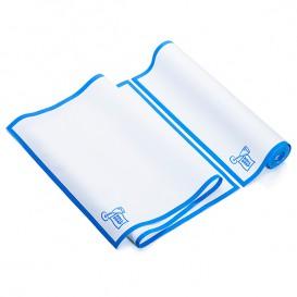 """Vaatdoek rol """"Roll Drap"""" Edgings blauw 40x80cm (8 stuks) P40cm (8 stuks)"""
