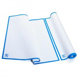 """Vaatdoek rol """"Roll Drap"""" Edgings blauw 52x64cm P52cm (200 stuks)"""