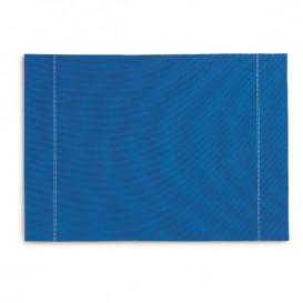 "Katoenen placemat ""Daen Drap"" Roenal blauw 32x45cm (72 stuks)"