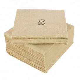 """Decoratief Papieren servet Eco """"Recycled"""" 20x20cm 2C (100 stuks)"""