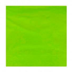 Papieren servet pistache rand 20x20cm 2C (100 stuks)