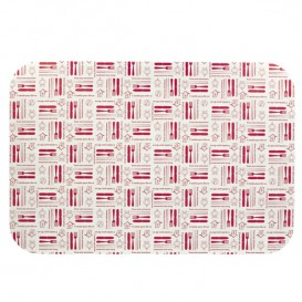 """Papieren Deksel voor Folie pan """"18 Cannelloni"""" 2200ml (500 stuks)"""