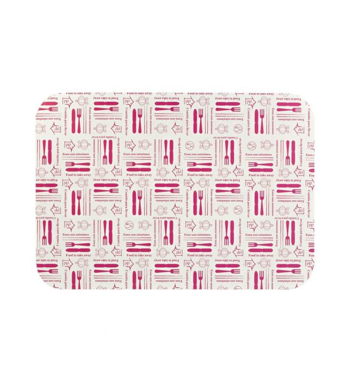 """Papieren Deksel voor Folie pan """"9 Cannelloni"""" 890ml (800 stuks)"""