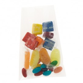 Plastic zak cellofaan PP 4x25cm G-130 (100 stuks)