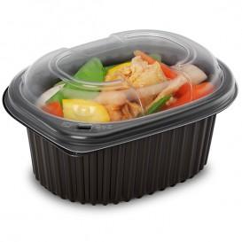 Plastic PP Container Rechthoekige vorm 450ml 14,2x11,1x6cm (640 stuks)