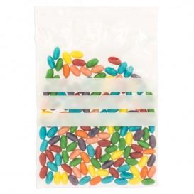 Plastic zak met rits Automatische sluiting Schrijfblokje 18x25cm G-160 (100 stuks)