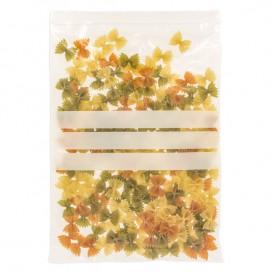 Plastic zak met rits Automatische sluiting Schrijfblokje 25x35cm G-160 (1000 stuks)