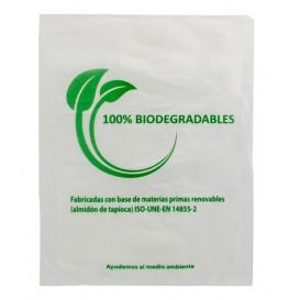 Plastic zak 100% biologisch afbreekbaar 30x40cm (100 stuks)