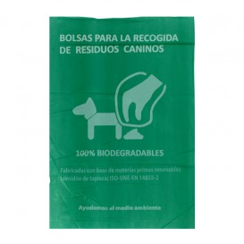 Plastic zak voor uitwerpselen van honden 100% bio 18x26cm (5000 stuks)