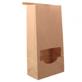 Cono de Papel Estraza Natural 240mm 140g (500 Uds)