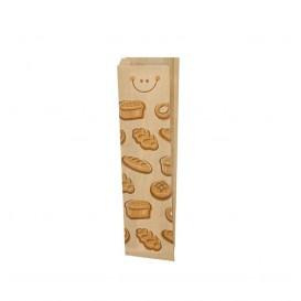 """Papieren voedsel zak """"Panes"""" 9+5x50cm (1000 stuks)"""