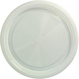"""Plato de Plastico PP Llano Blanco """"Deka"""" 220 mm (425 Uds)"""