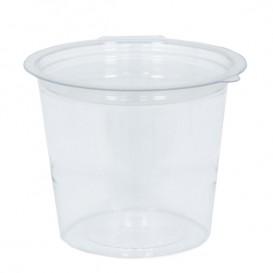 Plastic Container APET Rond vormig transparant 125ml Ø7cm (81 stuks)