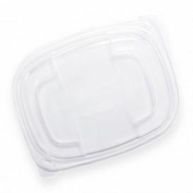 Plastic Deksel transparant Container PP 800/1000ml 21,5x17x2cm (20 stuks)