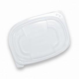 Plastic Deksel transparant Container PP 400/600ml 19x14x2cm (20 stuks)