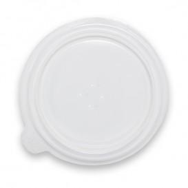 Plastic Deksel transparant Deli Container PP 350/400ml Ø12,0x1,8cm (100 stuks)