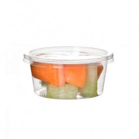 Tub Deli Container PLA Clear Compostable 145ml (100 Units)