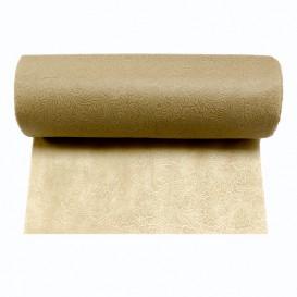 Niet geweven PLUS tafel loper crème 40x120cm (500 stuks)
