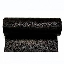 Niet geweven PLUS tafel loper zwart 40x120cm (500 stuks)
