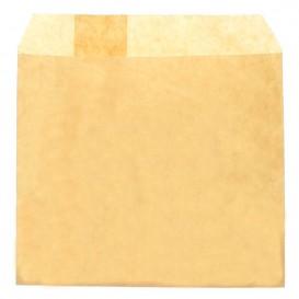 Papieren frieten envelop Vetvrij kraft 12x12cm (3000 stuks)