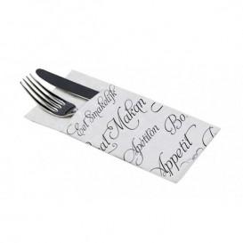 """Zakvouw papieren servet """"Enjoen enour meal"""" 40x40cm (960 stuks)"""