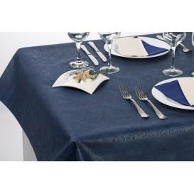 Niet geweven PLUS Tafelkleed Blauw 120x120cm (100 stuks)