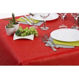 Niet geweven PLUS Tafelkleed Rood 120x120cm (100 stuks)