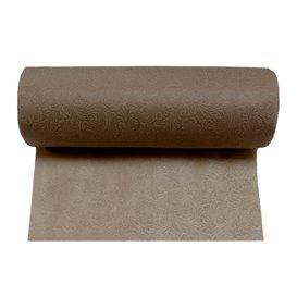 Niet geweven PLUS Tafelkleed rol Bruin 0,40x45m P30cm (6 stuks)