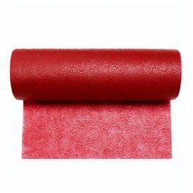 Niet geweven PLUS Tafelkleed rol Rood 0,40x45m P30cm (1 stuk)
