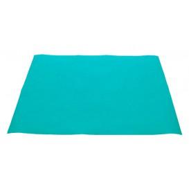 Papieren Placemats 30x40cm Turkoois 40g (1000 stuks)