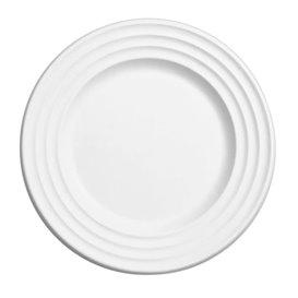 Suikerriet bord Premium Wave wit Ø23cm (500 stuks)