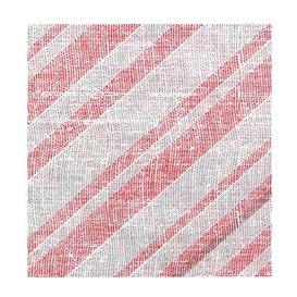 "Papieren servet dubbel punt ""Barlovento Rood"" 40x40cm (600 stuks)"