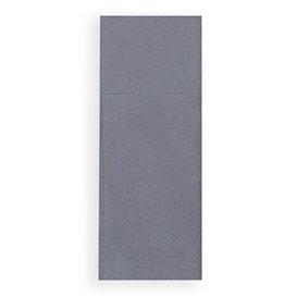 Zakvouw papieren servet grijs 30x40cm (30 stuks)