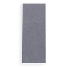 Zakvouw papieren servet grijs 30x40cm (1200 stuks)