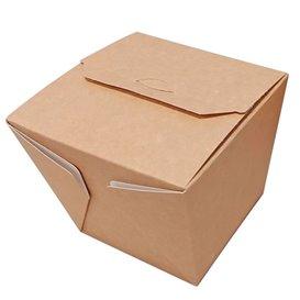 Papieren take-out Container Wok kraft 780ml (20 stuks)