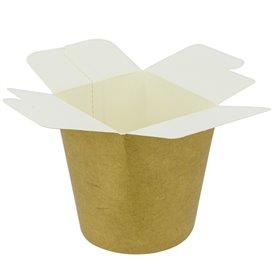Papieren Take-Out Container 100% ECO Kraft 26Oz/780ml (500 stuks)