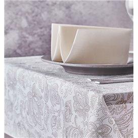 "Niet geweven Tafelkleed 120x120cm ""Mandala"" Crème 50g/m² (150 Stuks)"