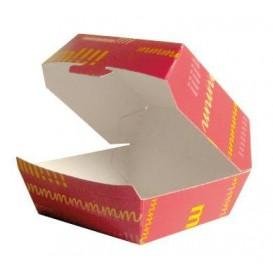 Kartonnen burger doos 12x12x7cm (450 stuks)