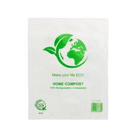 Plastic zak 100% biologisch afbreekbaar 16x24cm (100 stuks)