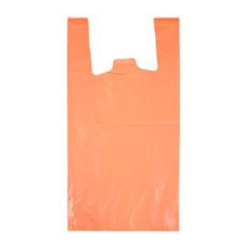"Plastic Hemddraagtassen 70% Gerecycled ""Colors"" Oranje 42x53cm 50µm (1.000 stuks)"