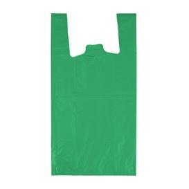 "Plastic Hemddraagtassen 70% Gerecycled ""Colors"" Groen 42x53cm 50µm (50 stuks)"