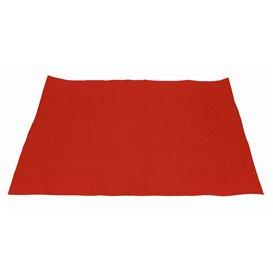 Placemat van Papier Rood 30x40cm 40g/m² (1.000 Stuks)